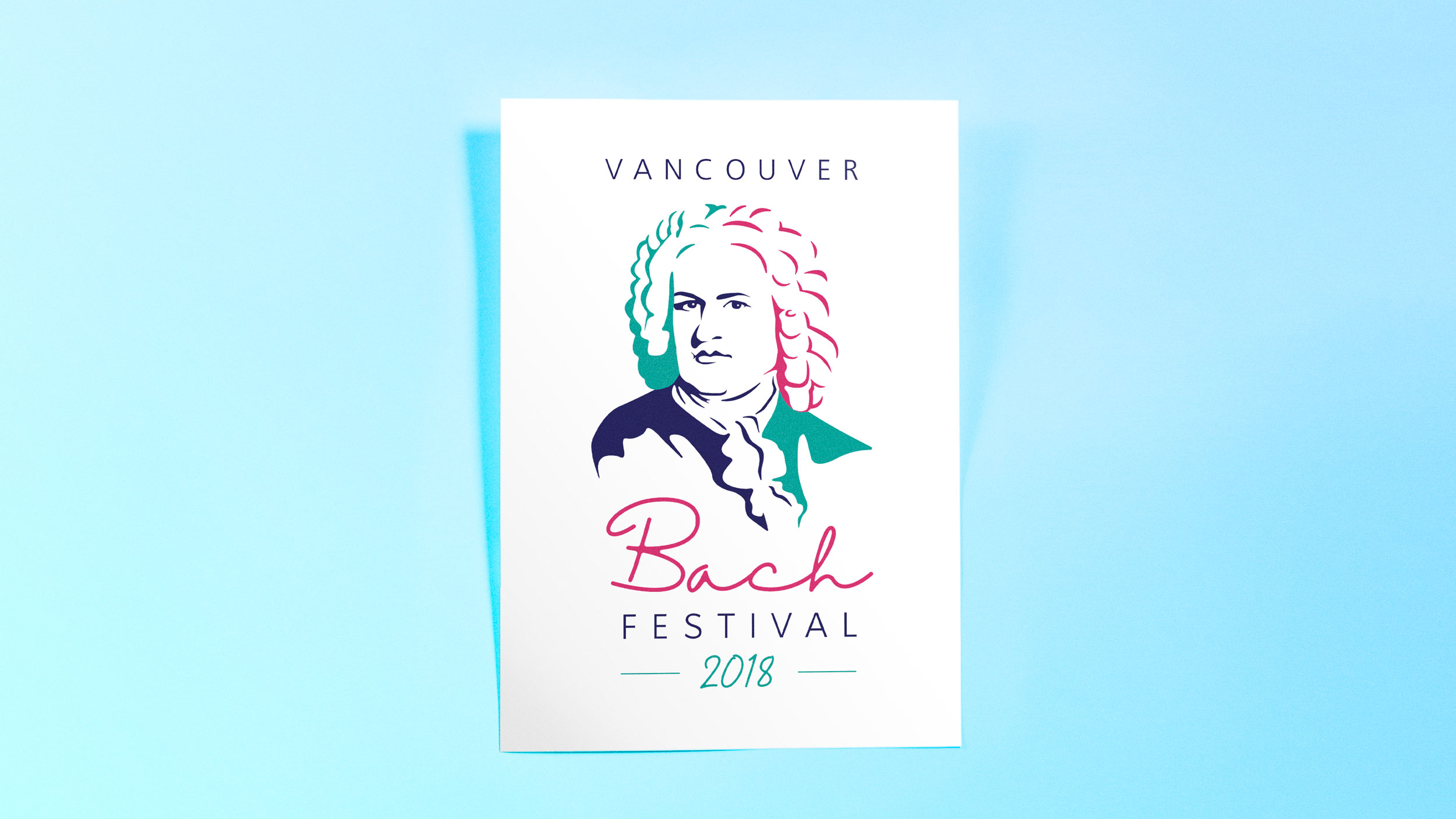 Vancouver Bach Music Festival Poster